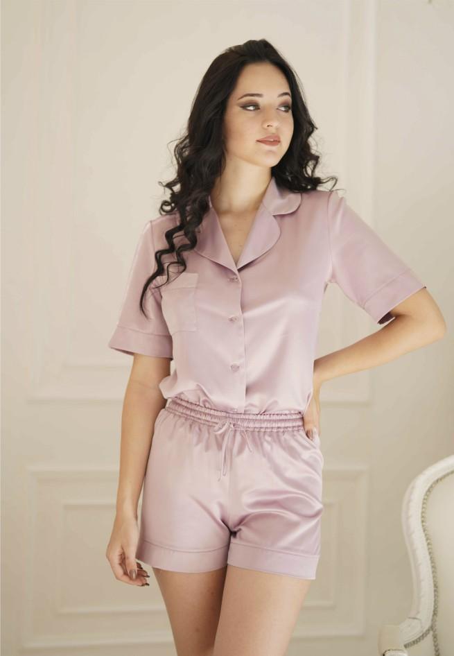Пижама (жакет/шорты) Mary 1375s/4098