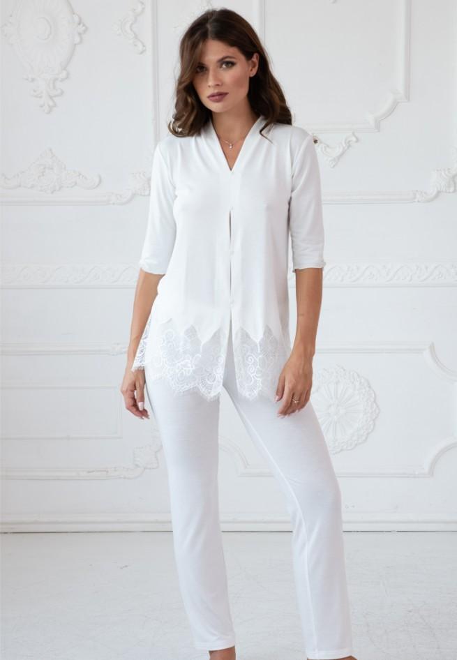 Пижама (блузон/брюки) Fransuaza