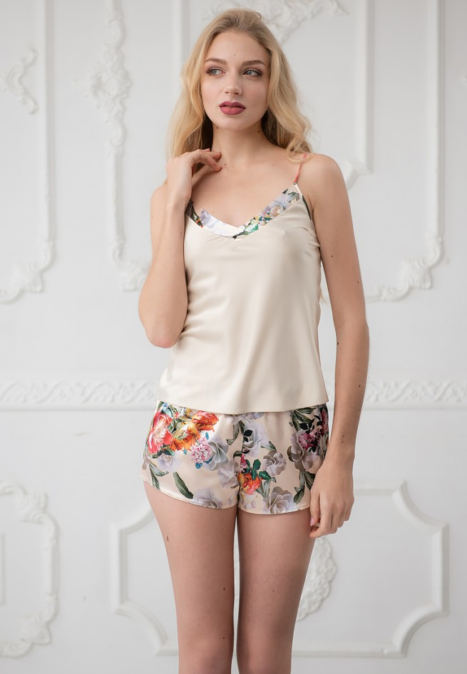 Пижама (майка шорты)Liliana 4090