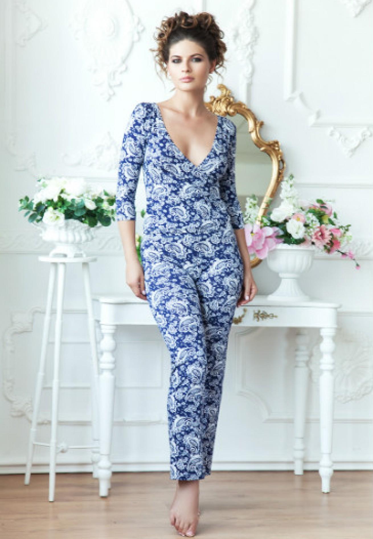 Пижама (блузон брюки) Sacura 3120