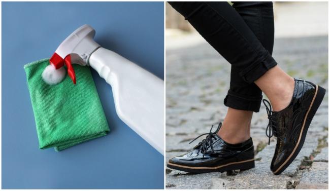 как вернуть глянец обуви?
