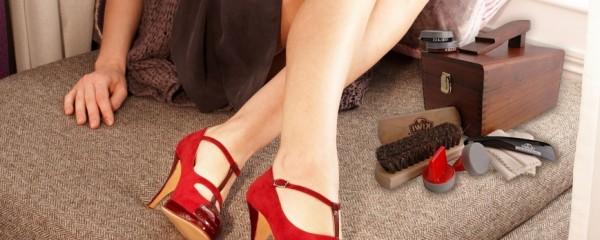 чистка кожи обуви