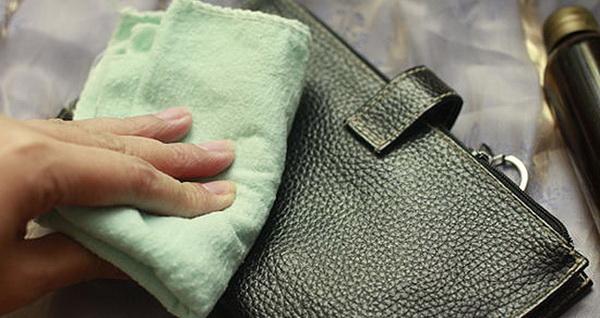 очистка сумки уксусом