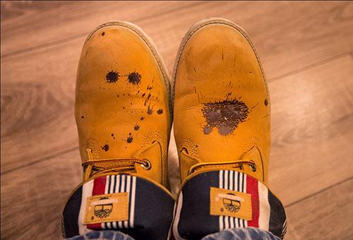 обувь из нубука очистка